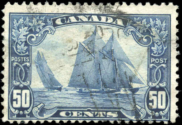 Stamp Canada Used 1929 50c F Scott #158