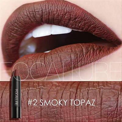 FOCALLURE Matte Lipstick Imperméable à lèvres Lèvres Maquillage Longue Durée Lip