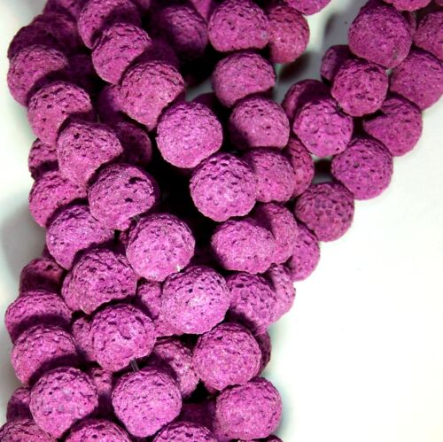 Lava Beads Diffuser Beads Scent Aromatherapy Purple Essential Oil Jewelry Lot