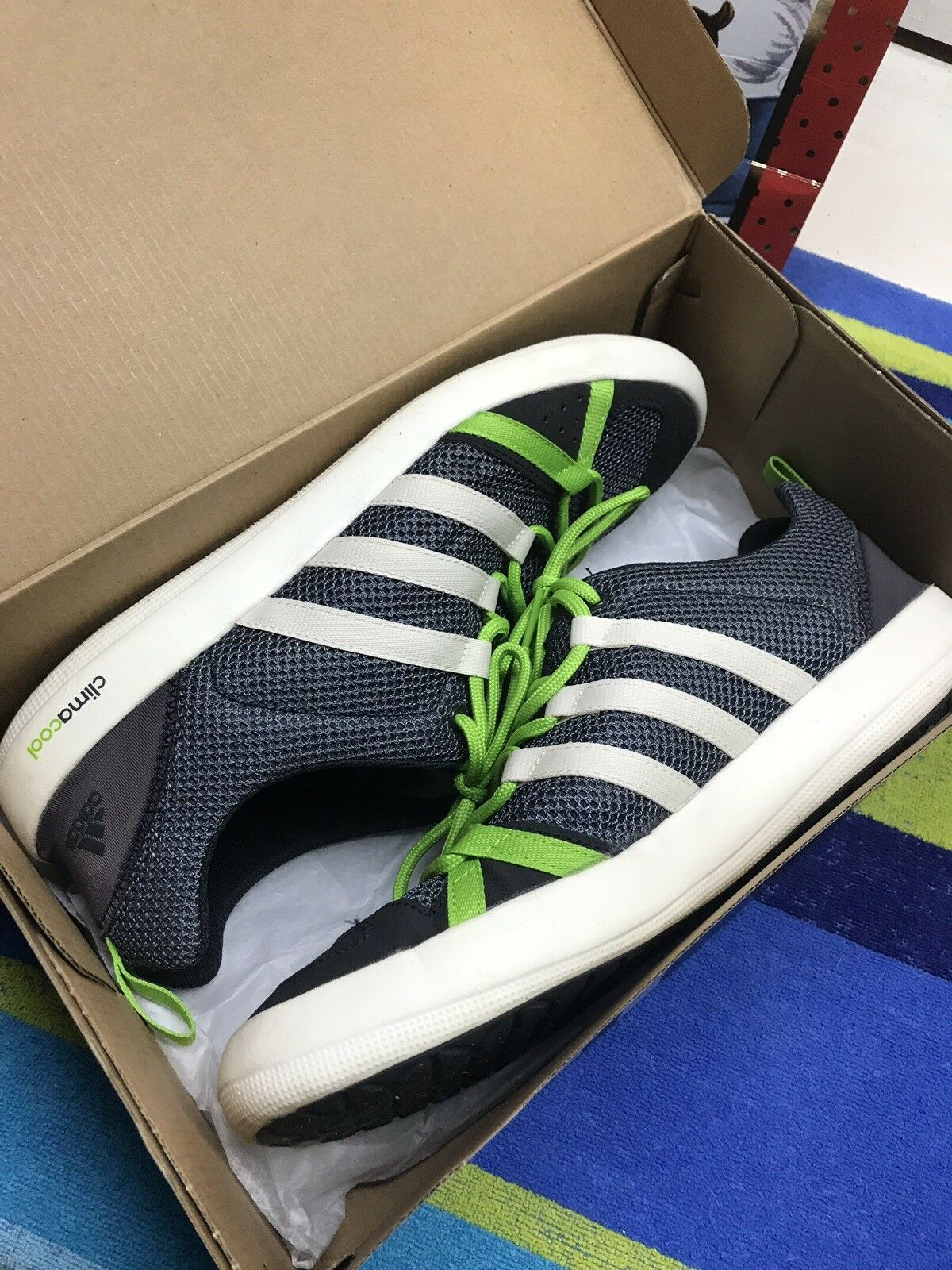 Adidas Boat Lace Water Grip Mens Sz 11