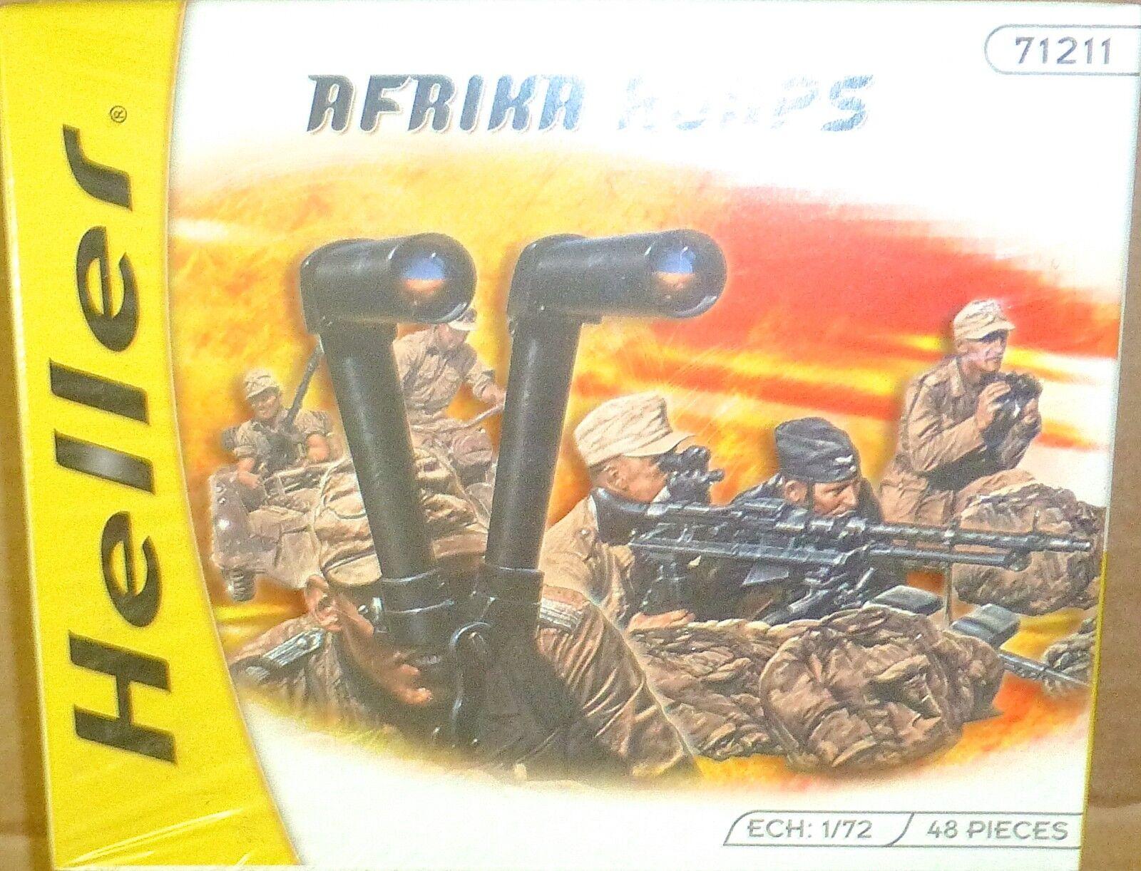 Africa Corps Kit Heller 71211 New 1 72 HX1 Å