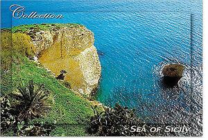 CARTOLINA-MARE-SEA-COLLEZIONE-CAMMORDINO-SCIACCA-SICILIA-SICILY-POSTCARD