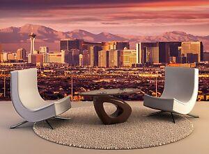 Las Vegas Strip Skyline Giant Photo Wallpaper Wall Mural Background