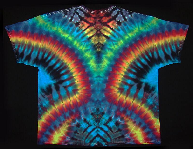 T-Shirt Gr.S - 5XL kurzarm handgefärbt Hippie Hippie Hippie Tie dye Batik Flower Power Goa NEU | Ausgezeichnet  | Hohe Sicherheit  ad0933