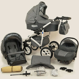 Image Is Loading LIMITED SALE Baby Pram Stroller Car Seat Pushchair