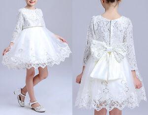 Caricamento dell immagine in corso Vestito-Cerimonia-Compleanno-Abito- Bambina-Girl-Party-Dress- 71b6408123b