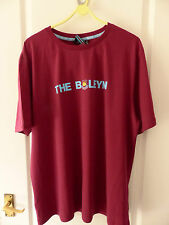 WEST HAM UNITED CLARET 'THE BOLEYN' MENS T SHIRT SIZE LARGE BRAND NEW WITH TAGS