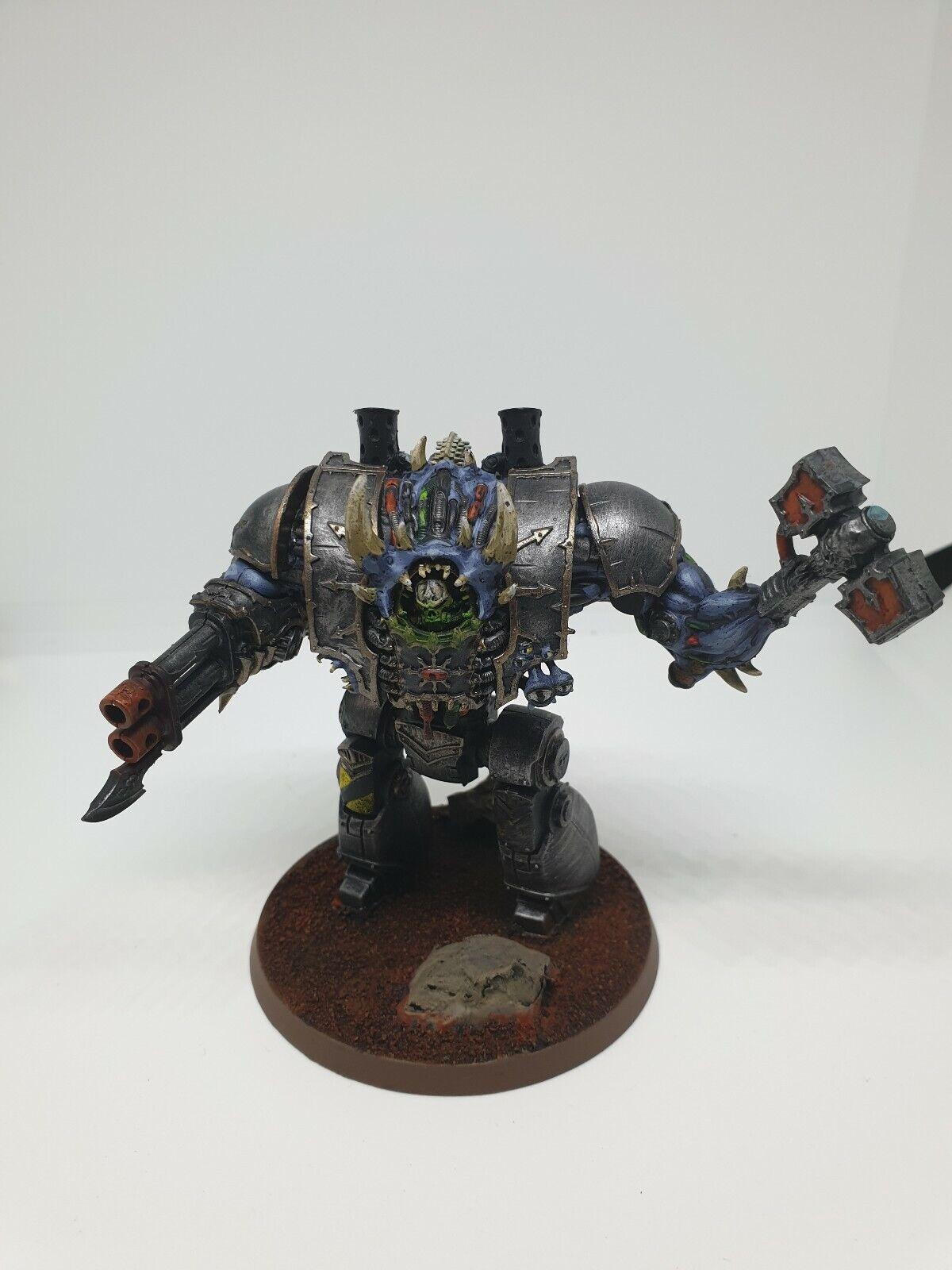 Warhammer 40k Contemptor  Helbrute Dreadnought