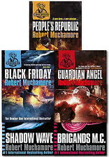 Robert Muchamore CHERUB Series 3 Collection 5 Books Set Black Friday Shadow Wave