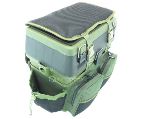 Siège de pêche siège boîte /& sac à dos roddarch mer grossier pêche sac back pack ruck sack