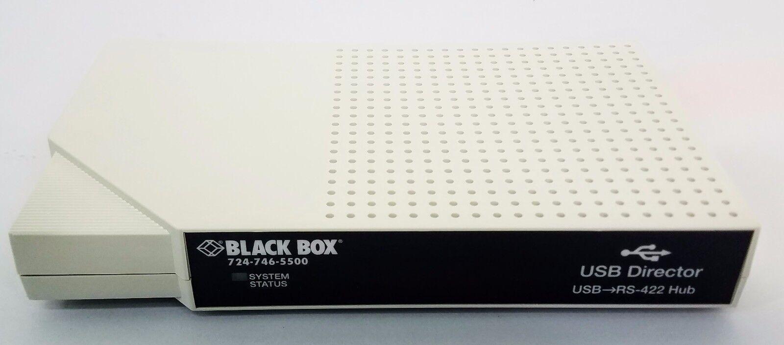 New Black Box USB Director USB-RS422 4 Port Hub Stackable Module