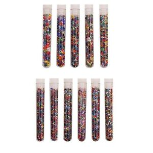 Czech-Glass-Seed-Bead-Sizes-6-0-14-0-Vial-Tube-Multi-Mix-Colors-amp-Finishes