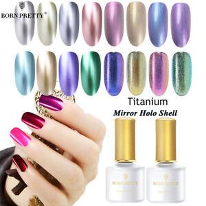 Metallique-Nail-Art-Vernis-a-Ongles-Mirror-UV-Gel-Polish-Manucure-BORN-PRETTY