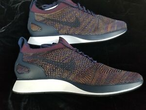 Details about MENS NIKE AIR ZOOM MARIAH FLYKNIT RACER BLUE BORDEAUX SIZE 11