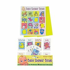 8 Players Baby Shower Bingo  A Fun Baby Shower Party Game Fun Kids Party