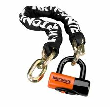 Kryptonite Evolution Disc Chain Bicycle Lock 1210 New Bike Security Heavy Duty