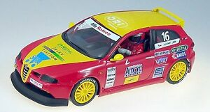 Fly 88197. Coche de slot.  Alfa 147 GTA CUP 2004. Escala 1/32