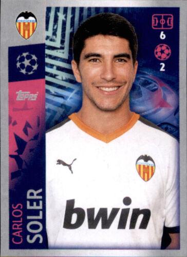 FC Valencia Champions League 19 20 2019 2020 Sticker 475 Carlos Soler