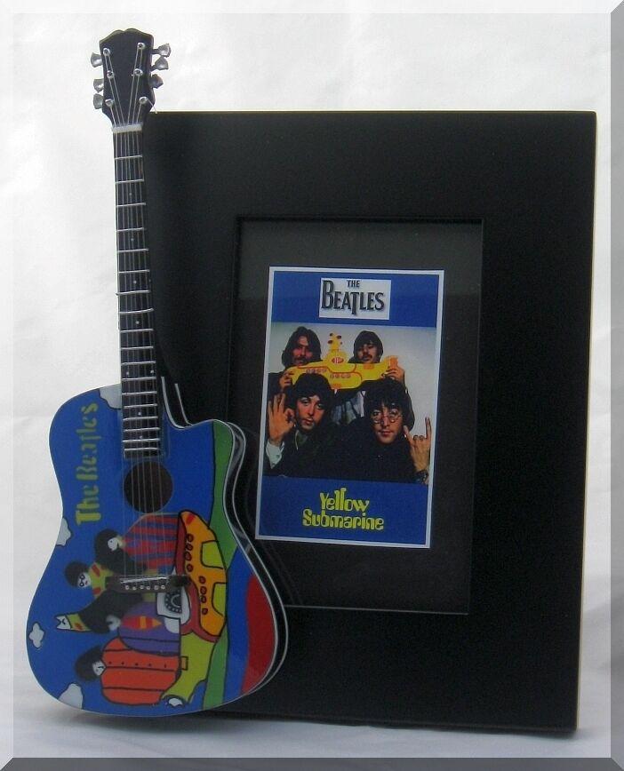 Marco de Guitarra en miniatura de los los los Beatles Submarino Amarillo 4db507
