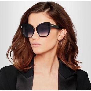 5c8f06709 Cat Eye Sunglasses Oversized Gradient Lens Women Frame Large Fashion ...