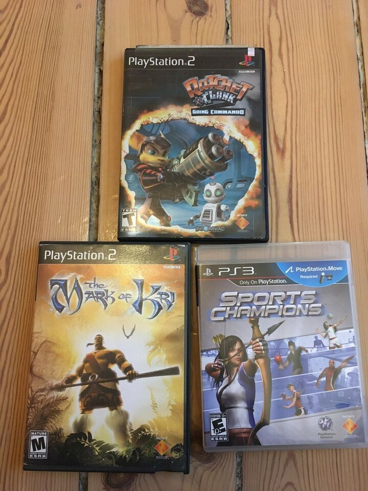 The mark of Kri and Ratchet Clank, PS2, action