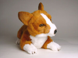 Pembroke Welsh Corgi Puppy By Piutre Made In Italy Plush Stuffed