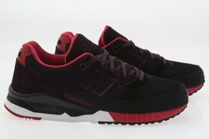 New Balance Men 530 Bionic Boom M530RTA black blackberry red M530RTA