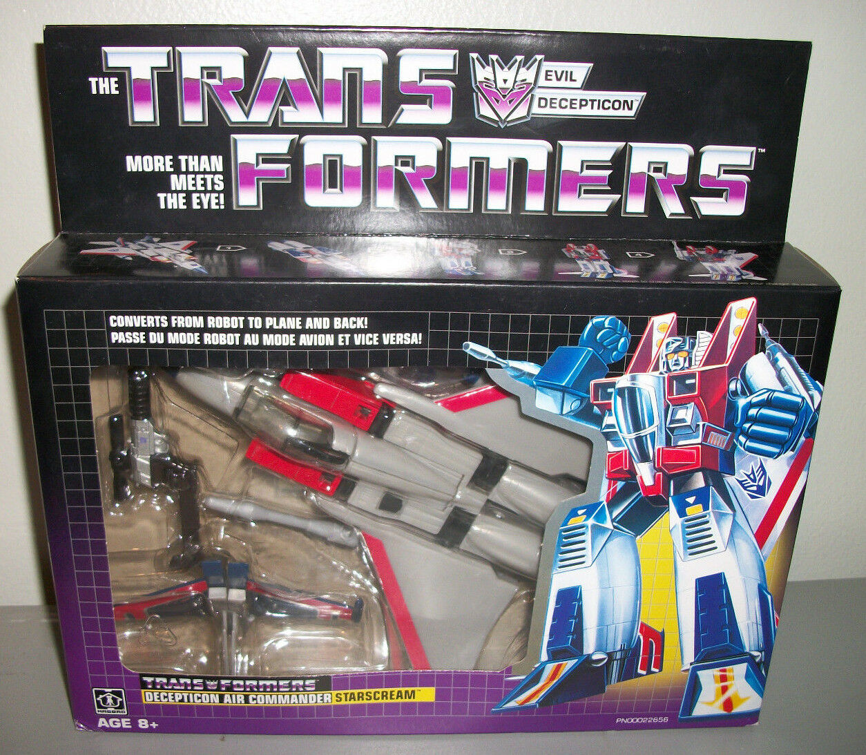G1 transformers walmart neuauflage starscream new in box 2018