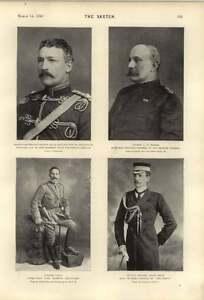 1900-Col-Laing-Lt-Col-Hugh-Sinclair-Captain-Feilden-Scots-Greys