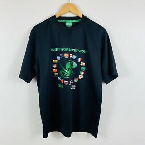 Rugby-World-Cup-2011-Mens-T-Shirt-Size-Large-Short-Sleeve-Great-Condition