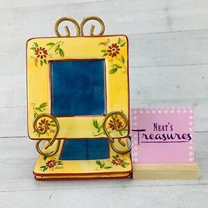 Inspirado-IDC-Hand-Painted-Stonelite-Blue-Yellow-Square-Trivet-Hot-Plates-Set-3