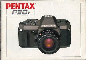 Pentax-Bedienungsanleitung-fuer-Pentax-P30-T