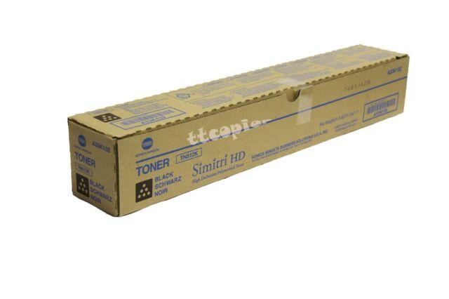TN512K TN-512K, A33K132 Genuine Black Toner for Bizhub C554 C454