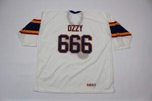 GéNéReuse Neuf Vintage 90s Ccm Homme Xl Ozzy Black Sabbath St Louis Blues Hockey Jersey