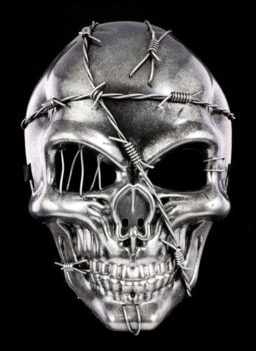 Filo SPINATO Teschio Maschera-fantasy gothic HALLOWEEN DECORAZIONE