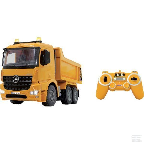 online al mejor precio Jamara remoto controlado Volquete Camión 1 20 20 20 Escala Modelo Juguete Regalo  el más barato