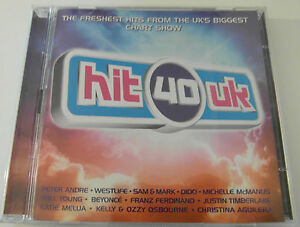 Various Artists - Hit 40 UK (2 x CD Album 2004) Used very good