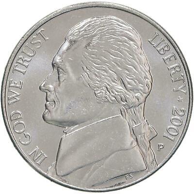 SP 2001-P Full Step FS Gem BU Jefferson Nickel