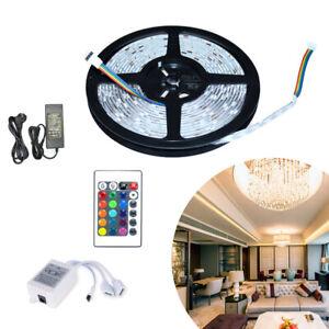 1-30M LED Streifen Band RGB Innenbereich 5050SMD Wohnzimmer Lichterkette Strip