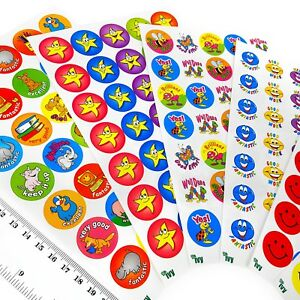 Ivy-Stationery-420-Assorted-Motivational-Merit-Award-Face-Stickers-23-5mm