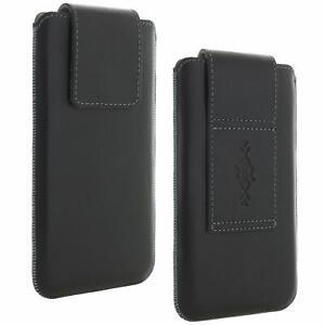 Echt Leder Gürtel universal Handytasche 5XL passend Samsung Galaxy A6+ A7 A8+ A9