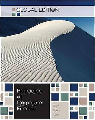 Principles of Corporate Finance by Stewart C. Myers, Richard A. Brealey...