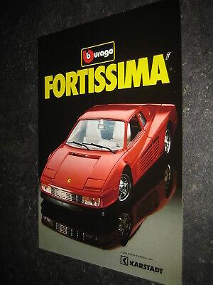 (038) Bburago Burago News Catalogo Prospetto 1986 Ed. Karstad Catalogue Brochure-mostra Il Titolo Originale