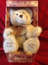 100 Birthday Teddy Bear, Aurora Teddy, Hand Cracked And Jointed