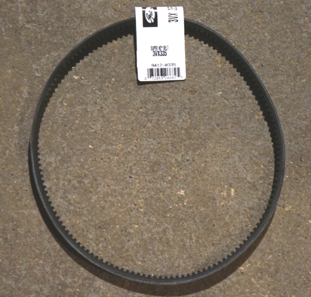 D/&D PowerDrive 3//3VX425 Banded Cogged V Belt