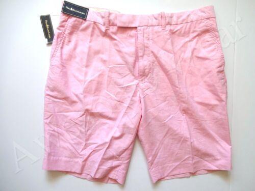 40 New cotone rosa Ralph Polo Lauren chiaro Pantaloncini taglia estivi 100 vqxvHfrnw