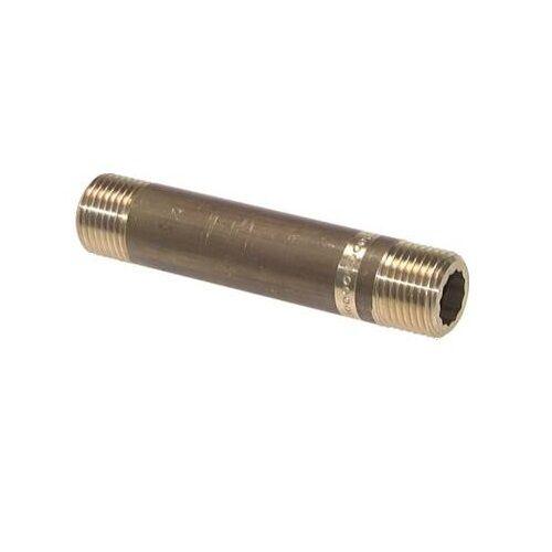 Rohrnippel, Verlängerung, Verbinder, Druckluftrohr, Messing, Verschraubung, PN16