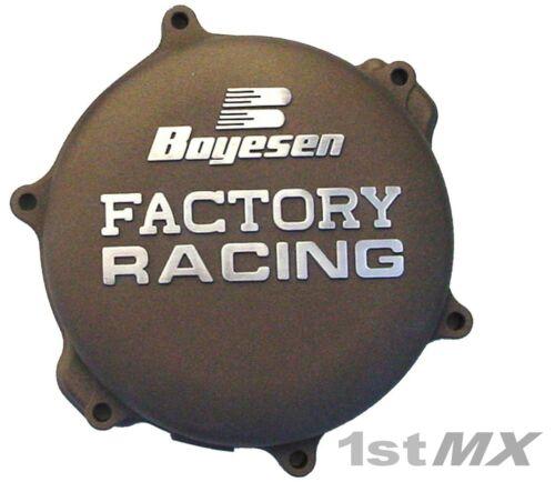 Boyesen Factory Racing Clutch Cover Motocross MX Magnesium Yamaha YZ 125 2017