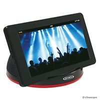 Jensen Stereo Speaker System For Tablet Smartphone Ipad Mini Air Iphone Ipod