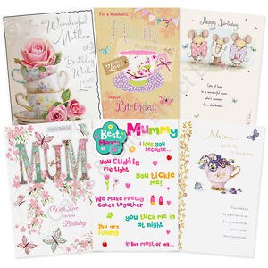 Image Is Loading Mum Mother Mummy Godmother Happy Birthday Card Boofle